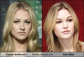 Yvonne Strahovski Totally Looks Like Julia Stiles