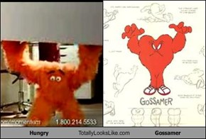 Hungry Totally Looks Like Gossamer