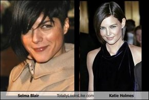 Selma Blair Totally Looks Like Katie Holmes