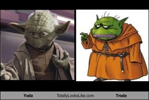 Yoda Totally Looks Like Trode