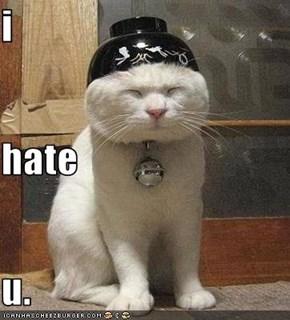 i hate  u.