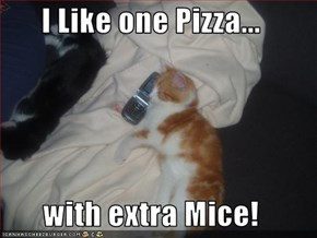 I Like one Pizza...  with extra Mice!
