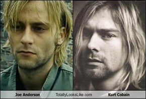 Joe Anderson Totally Looks Like Kurt Cobain
