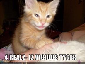 4 REALZ- IZ VICIOUS TYGER