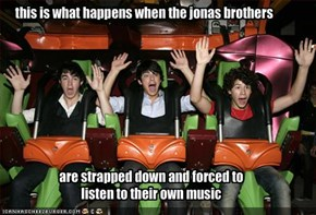 this is what happens when the jonas brothers