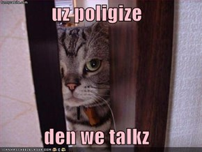 uz poligize  den we talkz