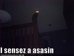 I sensez a asasin