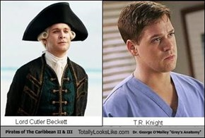 "Pirates of The Caribbean II & III Totally Looks Like Dr. George O'Malley ""Grey's Anatomy"""