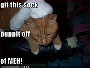 git this sock puppit off of MEH!