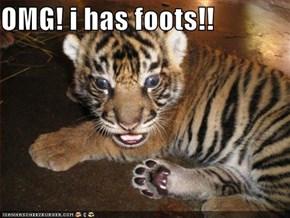 OMG! i has foots!!