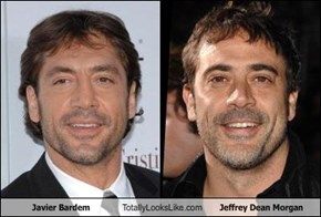 Javier Bardem Totally Looks Like Jeffrey Dean Morgan