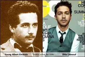 Young Albert Einstein Totally Looks Like Shia Labeouf