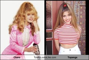 Charo Totally Looks Like Topanga