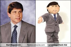 Rod Blagojevich Totally Looks Like a Cabbage Patch Kid