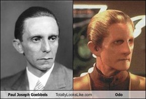 Paul Joseph Goebbels Totally Looks Like Odo