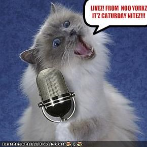 LIVEZ! FROM  NOO YORKZ! IT'Z CATURDAY NITEZ!!!