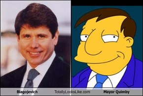 Blagojevich Totally Looks Like Mayor Quimby