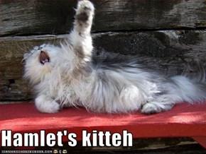 Hamlet's kitteh