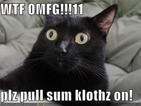 WTF OMFG!!!11  plz pull sum klothz on!