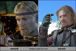 beowulf Totally Looks Like boromir