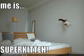 me is...  SUPERKITTEH!