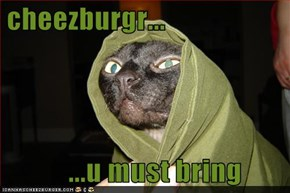 cheezburgr...        ...u must bring