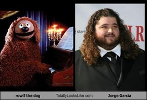 rowlf the dog Totally Looks Like Jorge Garcia