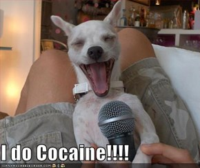 I do Cocaine!!!!