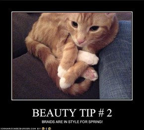 BEAUTY TIP # 2