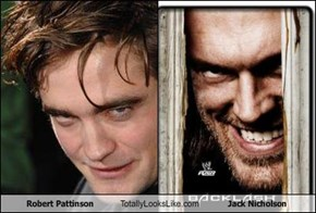 Robert Pattinson Totally Looks Like Jack Nicholson