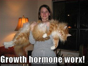 Growth hormone worx!