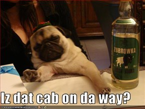 Iz dat cab on da way?