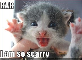 RAR  I am so scarry