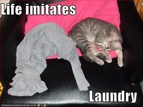 Life imitates  Laundry