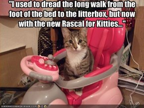 """I used to dread the long walk from the