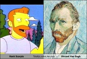 Hank Scorpio Totally Looks Like Vincent Van Gogh