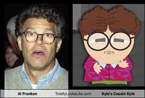 Al Franken Totally Looks Like Kyle's Cousin Kyle