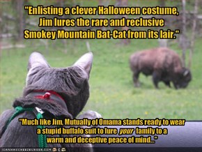 """Enlisting a clever Halloween costume,