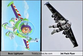 Buzz Lightyear Totally Looks Like Jet Pack Flyer