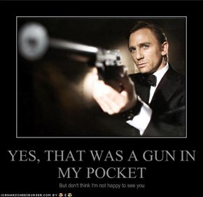 YES, THAT WAS A GUN IN MY POCKET