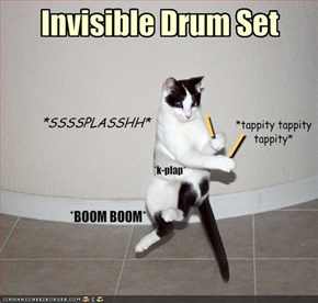 Invisible Drum Set