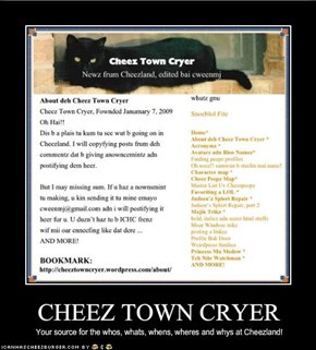 CHEEZ TOWN CRYER