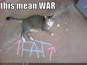 this mean WAR