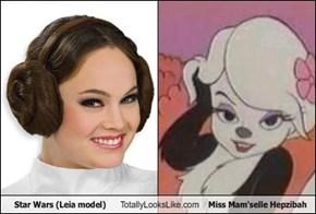 Star Wars (Leia model) Totally Looks Like Miss Mam'selle Hepzibah