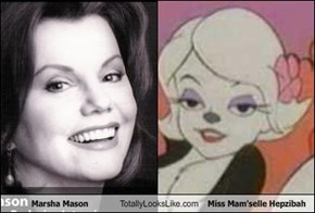 Marsha Mason Totally Looks Like Miss Mam'selle Hepzibah