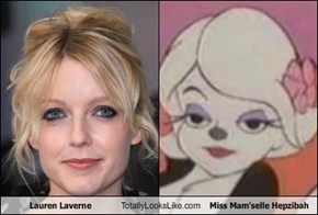 Lauren Laverne Totally Looks Like Miss Mam'selle Hepzibah