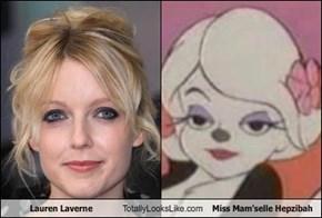 Lauren Laverne Totally Looks Like Miss Mam'selle Hepzibah