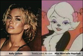 Kelly Carlson Totally Looks Like Miss Mam'selle Hepzibah