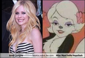 Avril Lavigne Totally Looks Like Miss Mam'selle Hepzibah