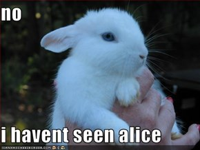 no  i havent seen alice